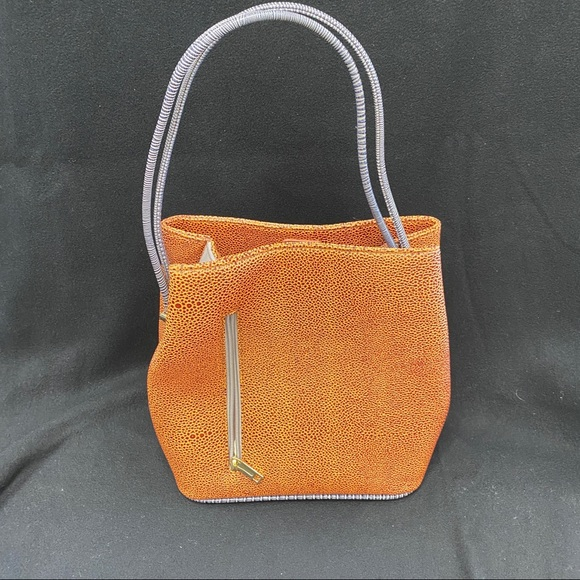 samoe Handbags - SAMOE SATCHEL - EMBOSSED LEATHER